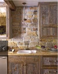Cool Stone And Rock Kitchen Backsplashes That Wow DigsDigs - Rock backsplash