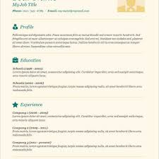 free easy resume resume template and professional resume