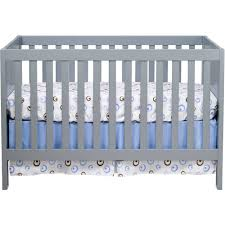 Babi Italia Convertible Crib by Baby Mod Modena 3 In 1 Convertible Crib Gray Walmart Com