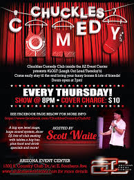 chuckles comedy club by arizona event center on june 8 2017 in