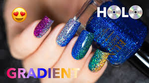 holo gradient nail f u n lacquer youtube