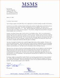 Additional Information Examples 4 Example Of Letter Of Recommendation For A Teacher Life