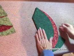 folding christmas tree napkins youtube