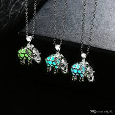 stone pendant necklace wholesale images Wholesale european style luminous stone pendant necklaces jpg
