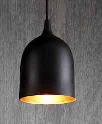 black and copper pendant light lumi r pendant black copper ellum27blkcop