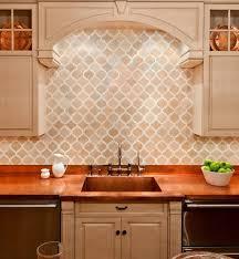 enchanting kitchen tumbled marble tile backsplash pictures of