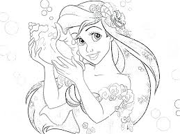 princess crafts coloring pages prince eric free mermaid