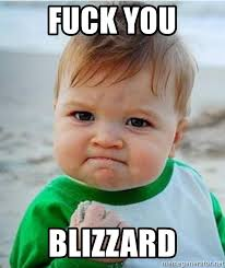 Fuck You Kid Meme - fuck you blizzard victory kid meme generator
