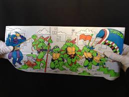Tmnt Bathroom Set Teenage Mutant Ninja Turtles Vinyl Wall Paper By Modernnostalgic