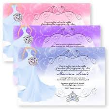 fairytale wedding invitations fairytale bridal shower bouquet wedding invitations custom