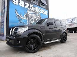 Dodge Journey Black Rims - nitro rims