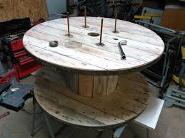 Relooker Une Table Faire Une Table Basse Avec Un Touret U2013 Phaichi Com