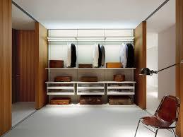 wall mounted walk in wardrobe contemporary wooden melamine