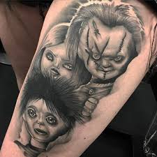 34 best chucky and bride tattoos images on pinterest chucky