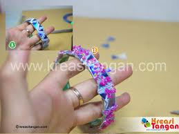 membuat mainan dr barang bekas membuat gelang dari barang bekas kerajinan tangan pinterest