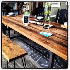 Reclaimed Dining Room Table 30 Best Reclaimed Tables Images On Pinterest Architecture