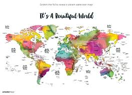 travel world map scratch your travels it s a beautiful world map suade llc