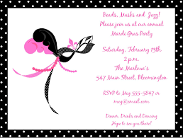 pink mardi gras mask and pink mask mardi gras invitations