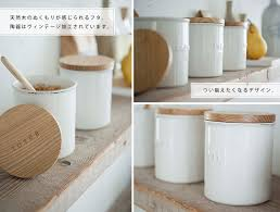 white ceramic kitchen canisters smart kitchen rakuten global market tosca earthenware canister