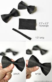 black tie party favors diy mini bow ties to dress up the party bowties minis and babies