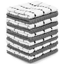 amazon com kitchen table linens home kitchen tablecloths royal kitchen towels 12 pack 100 soft cotton 15