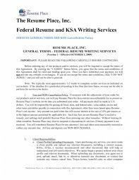 Federal Government Resume Examples by Federal Resume Writing Service Resume For Your Job Application