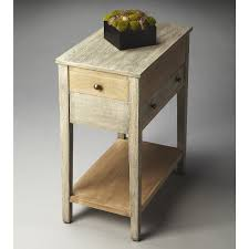 hardwood 10 inch chairside end table narrow end table offers multiple uses at home throughout chairside