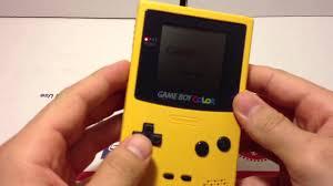 lovely decoration pokemon yellow gameboy color version pikachu
