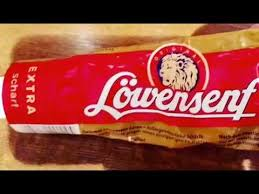 lowensenf mustard spicy food foodie spicy food from germany löwensenf