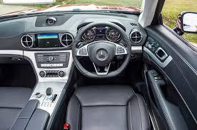 mercedes interior mercedes sl interior autocar