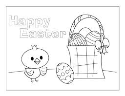 free kids u0027 easter coloring pages greeting cards couponing 101