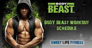 body beast workout schedule free download and tips