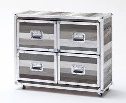 Badezimmer Kommode Holz Kommode Eiche Sonoma Lavagrau Kommoden Und Sideboards Woody Möbel