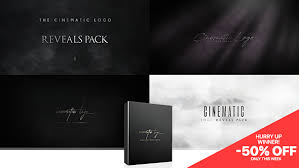 cinematic logo reveals pack 20762573 u2013 free after effects template
