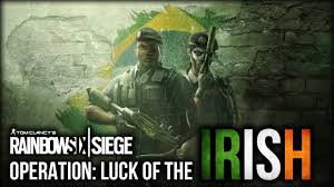 operation the luck of the irish rainbow six siege montage youtube
