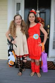 Matching Halloween Costumes Friends Maryland Pink Green Halloween Recap