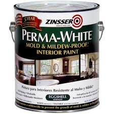 White Mildew In Basement Perma White Mold And Mildew Proof Interior Paint Walmart Com