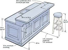 home design lovely typical bar dimensions home design typical
