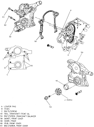 repair guides engine mechanical timing chain cover and seal