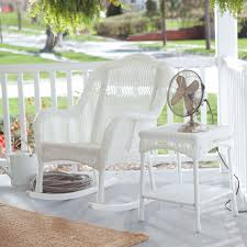 Where To Buy Outdoor Rocking Chairs White Wicker Rocking Chair