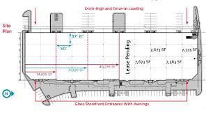 Industrial Floor Plan by Industrial Space Available Immediately 1772 Prairie Way