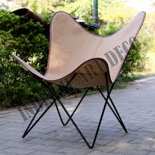canvas leather butterfly outdoor garden chair classic butterfly