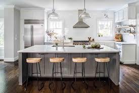 gray kitchen island gray kitchen island with wisteria smart and sleek stools