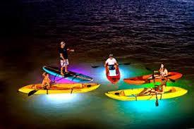 kayak lights for night paddling exclusive nighttime ocean adventures key west kayak