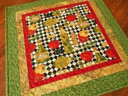 quilted square table toppers italian kitchen decor quilted square table topper red green black