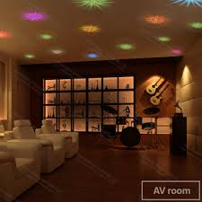 chambre ciel étoilé zw 04 6 pcs led fiber optique plafond étoilé ciel étoilé sept