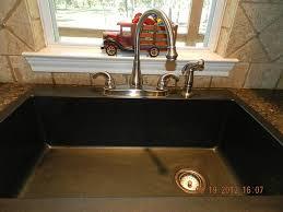black countertop with black sink kitchen stark iron kitchen sink black dark colour design basin on