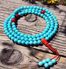 turquoise birthstone meaning about gemstones used in mala prayer beads