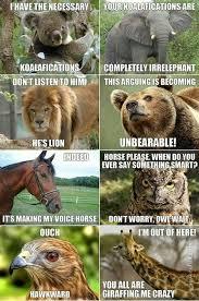 Meme Puns - joke4fun memes animal kingdom puns