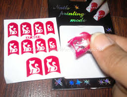 nail art stickers on my nails nails of the week 6